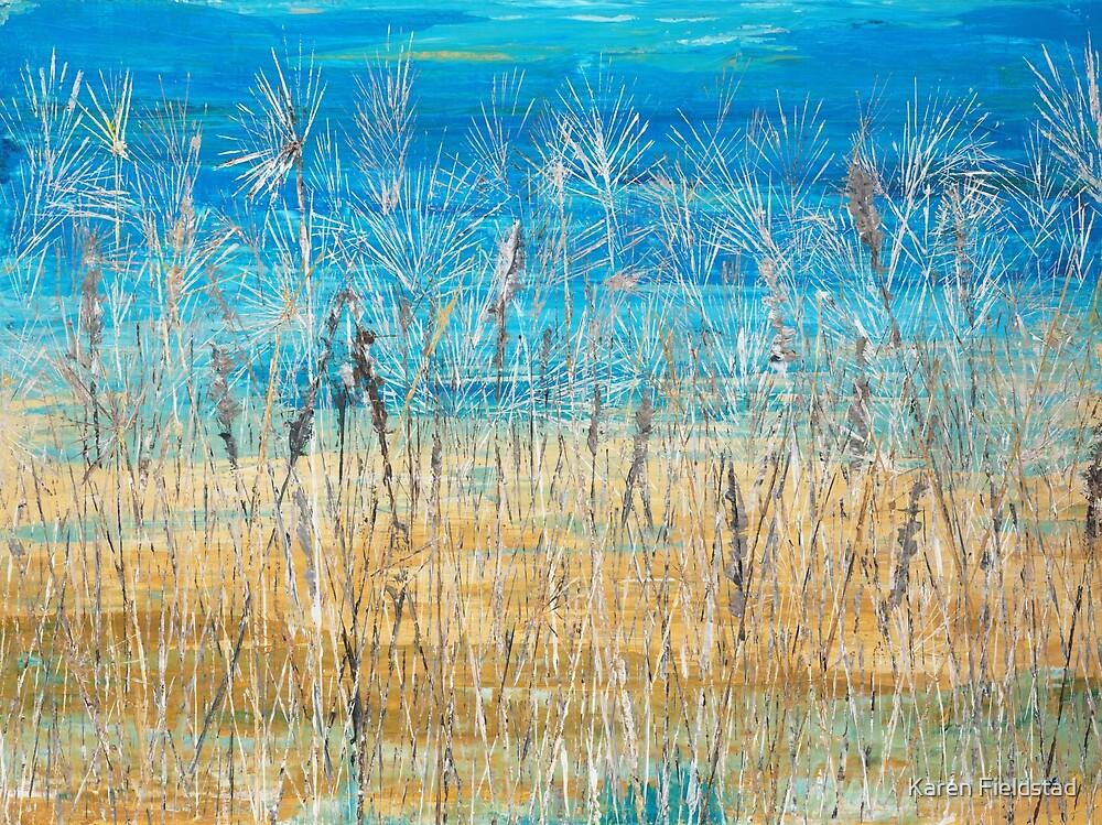 Beach Grass by Karen Fieldstad