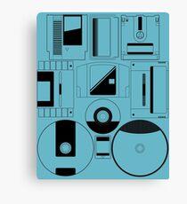 Nintendo Console Carts Canvas Print