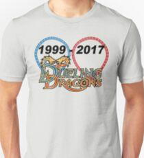 Duellierende Drachen: 1999-2017 Unisex T-Shirt