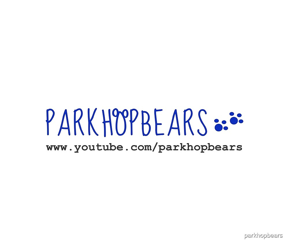 Parkhopbears Logo with Site by parkhopbears