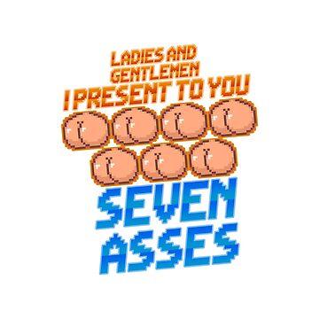 Game Grumps - Seven Asses by callumapple1997