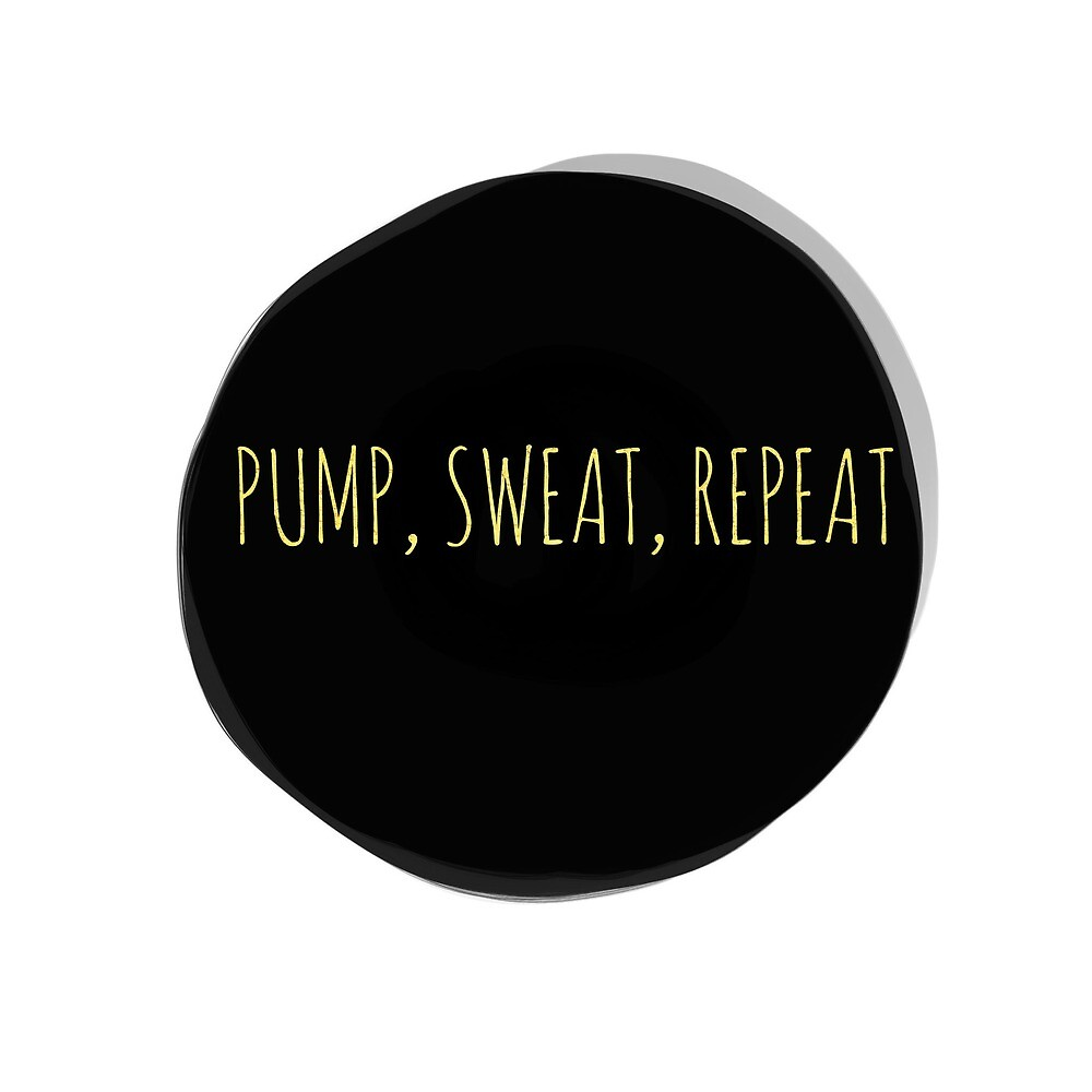 Pump, Sweat, Repeat by Ensophoto