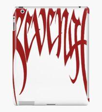 REVENGE KILL XXXtentacion (RED) iPad Case/Skin