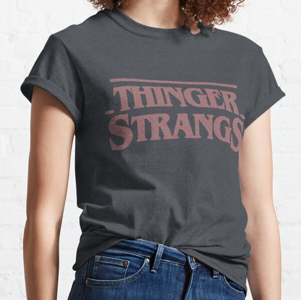 THINGER STRANGS - solid color Classic T-Shirt