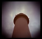 big lighthouse up in the sky by Juilee  Pryor
