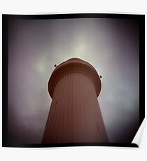 big lighthouse up in the sky Poster