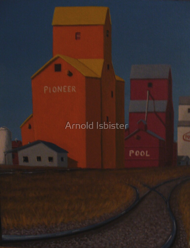 Prairie Gods by Arnold Isbister