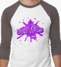 Brutes.io (Logo Pink) Men's Baseball ¾ T-Shirt