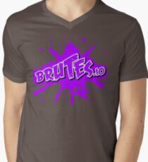Brutes.io (Logo Pink) Men's V-Neck T-Shirt