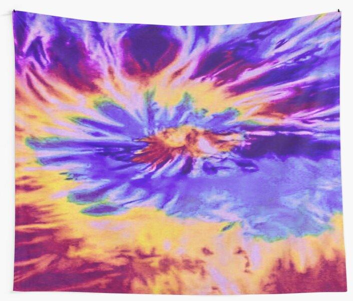 Tie Dye Tapestry by sunnydaaze