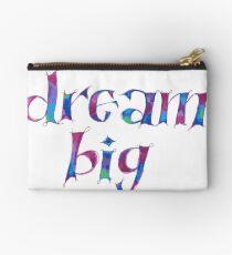 Dream Big Watercolor Studio Pouch