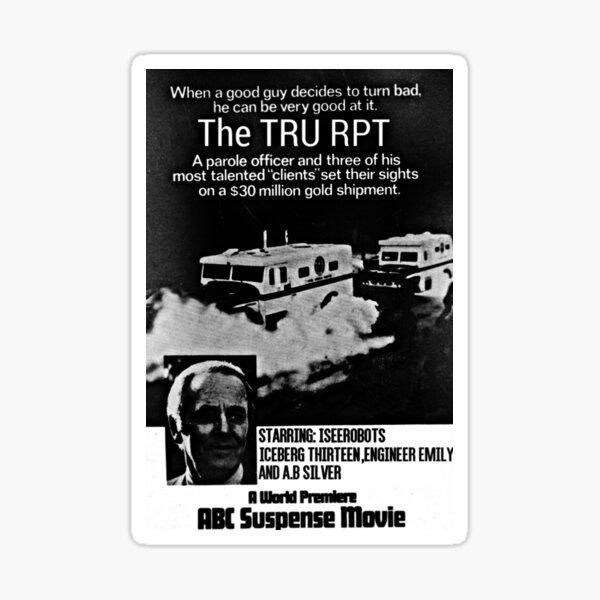 The TRU RPT Alpha Caper Sticker
