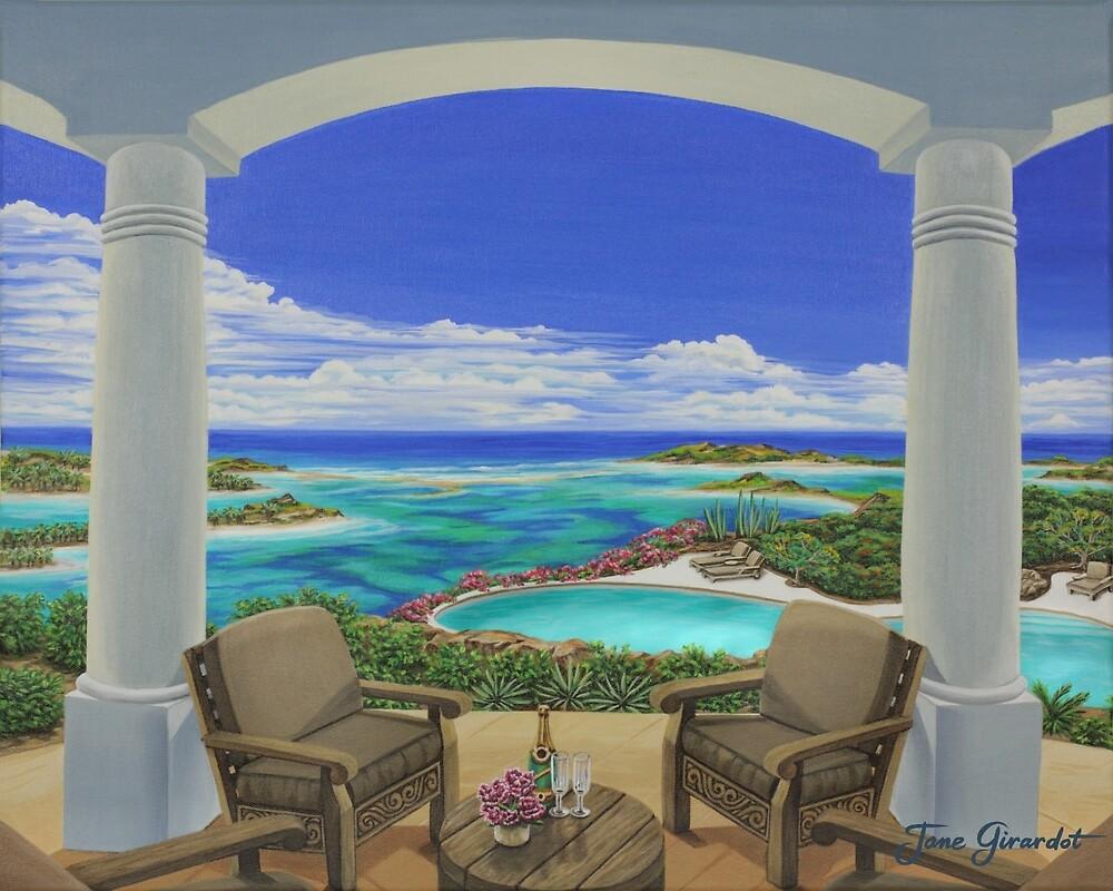 Vacation View by Jane Girardot