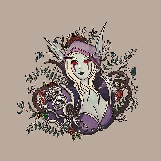 Queen of the Banshee by elvenwings