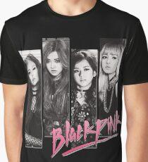 BLACKPINK Vintage Grunge T-Shirt Grafik T-Shirt