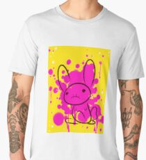 bunny splatter Men's Premium T-Shirt