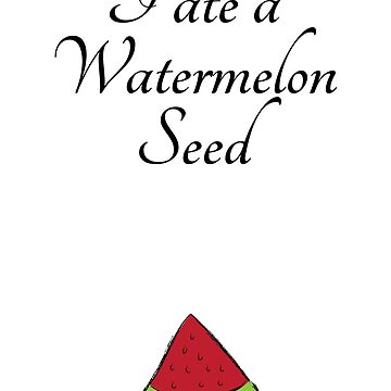 I Ate A Watermelon Seed Maternity T Shirt | Pink Tshirt tee by MommiesByDesign