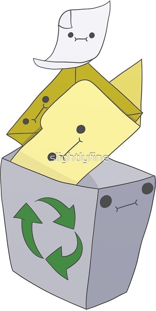 Recycle Bin (ver 2.) by slightlyfine