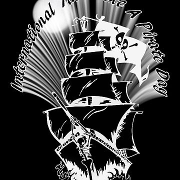 Pirate Ship on the High Seas by Gravityx9