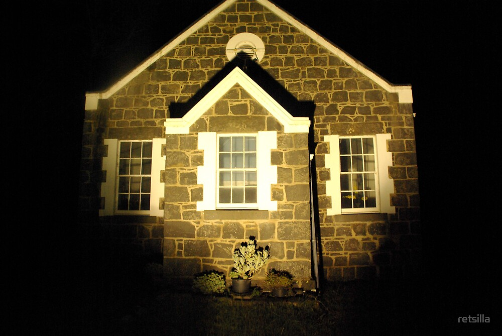 Country Church by retsilla