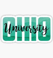 Ohio University, OU Sticker