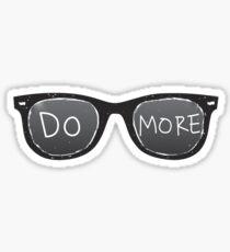 DO MORE Sunglasses Sticker