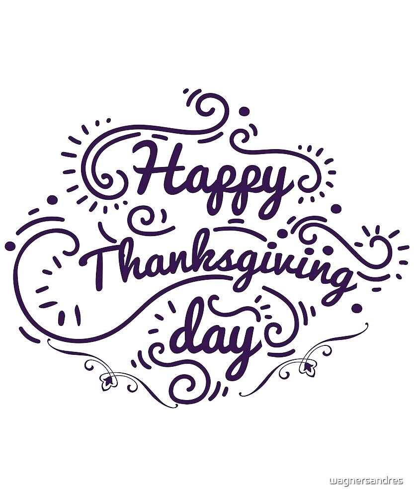 Thanks Giving Tees by wagnersandres