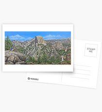 Springtime In Yosemite Valley Postcards