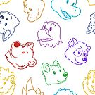 Zoo pattern by licographics