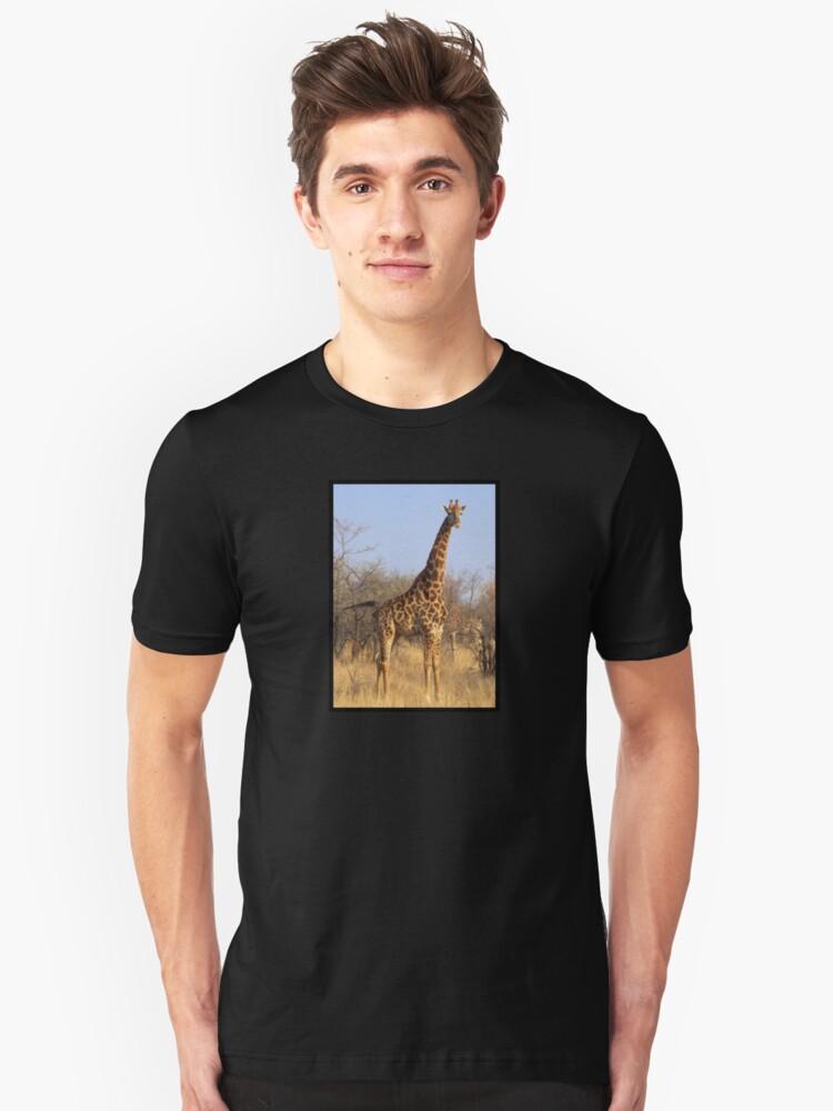 South Africa Giraffe Unisex T-Shirt Front