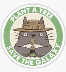 Save the Galaxy Sticker