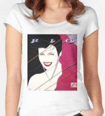 Rio - Duran Duran (Bruce Banner's Ragnarok shirt) Women's Fitted Scoop T-Shirt