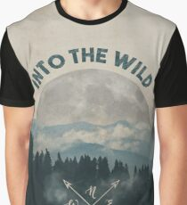 Into the Wild - Forest Art Graphic T-Shirt