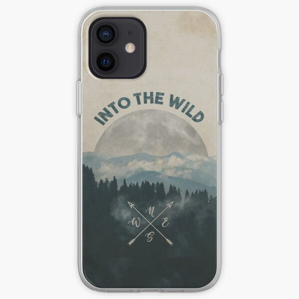 Into the Wild - Forest Art iPhone Soft Case