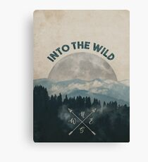 Into the Wild - Forest Art Canvas Print
