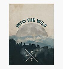 Into the Wild - Forest Art Photographic Print