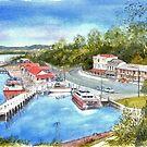 Strahan Tasmania by Muriel Sluce by Wendy Dyer