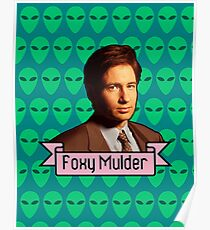 Foxy Mulder ft. Aliens Poster