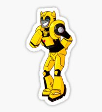 Transformers Animated Bumblebee Sticker