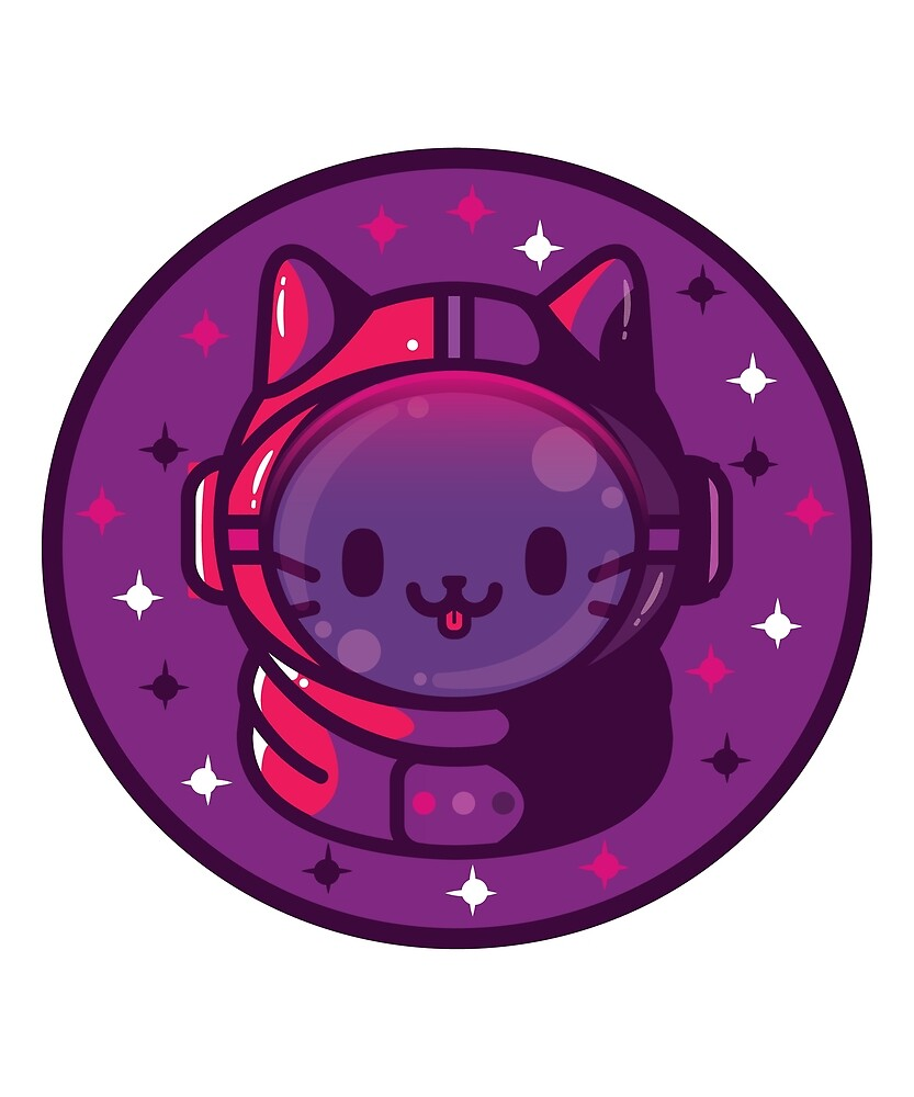 Space Cat by Chikkie