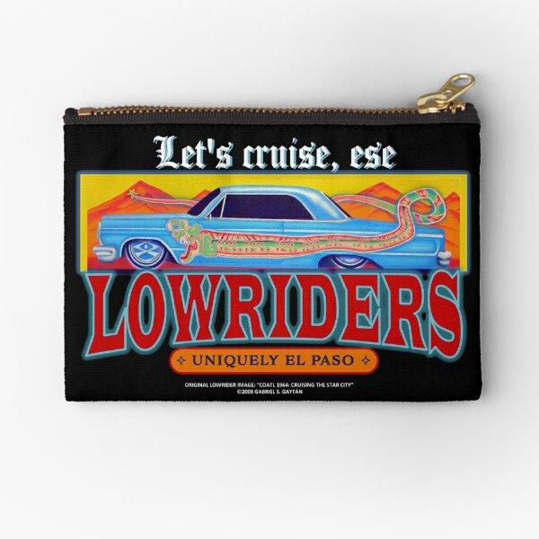 Lowrider Chicano Zipper Pouches | Redbubble