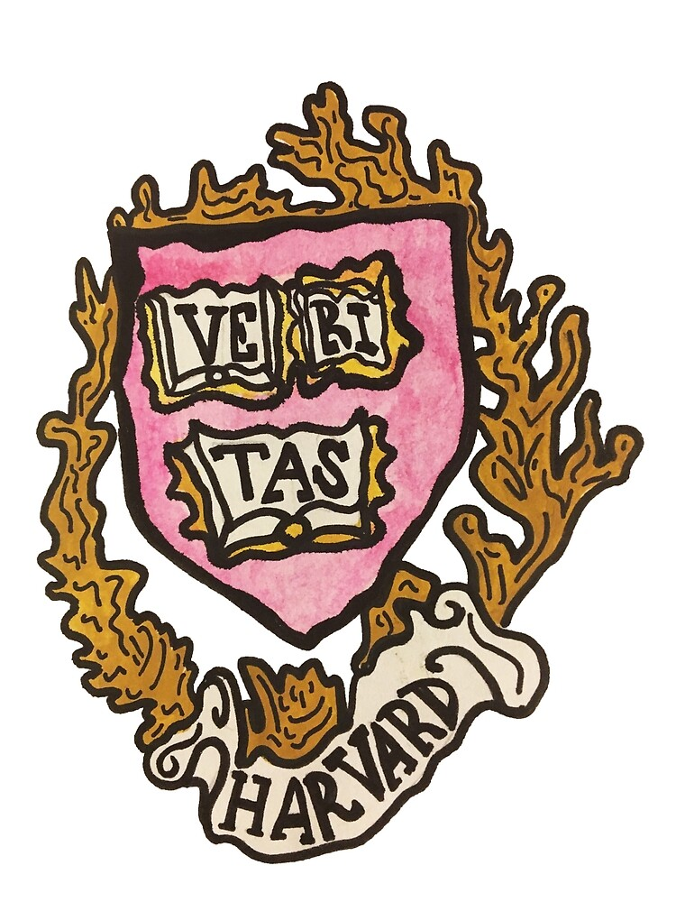 Harvard Painted Logo by Annalee Durland-Jones