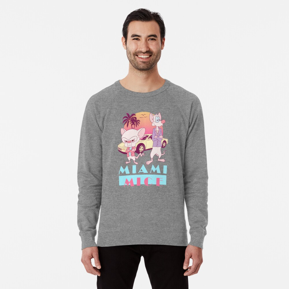 Miami Mice Lightweight Sweatshirt