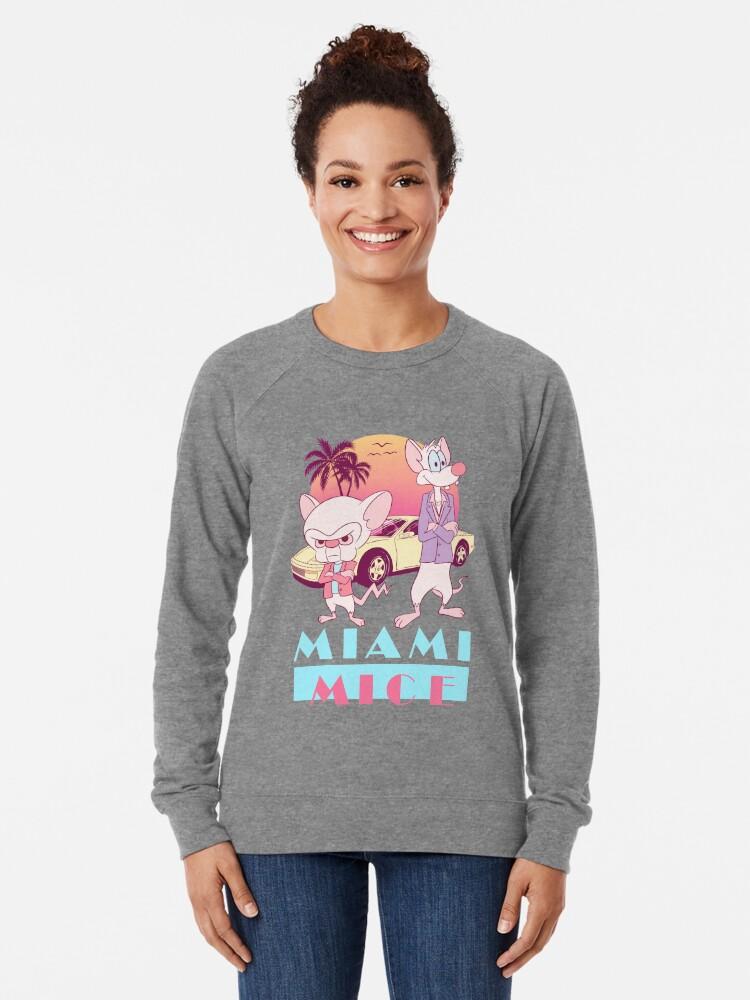 Alternate view of Miami Mice Lightweight Sweatshirt