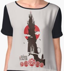 the dark tower Women's Chiffon Top