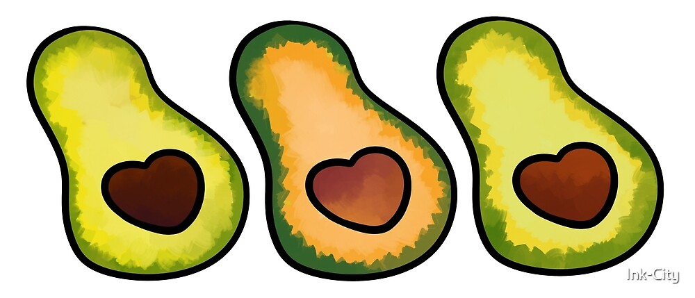 Avocado group by Ink-City
