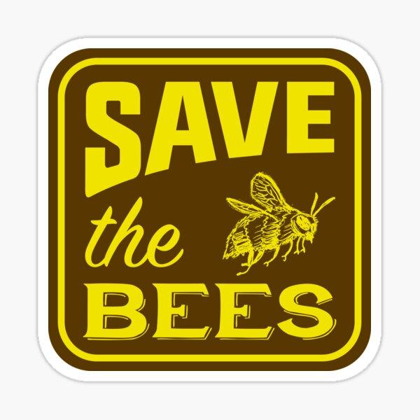 Save the Bees! (sticker) Sticker