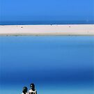 Friends at Beach by malcblue