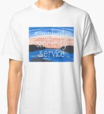 Pocono: Simplicity Sincerity Service Classic T-Shirt
