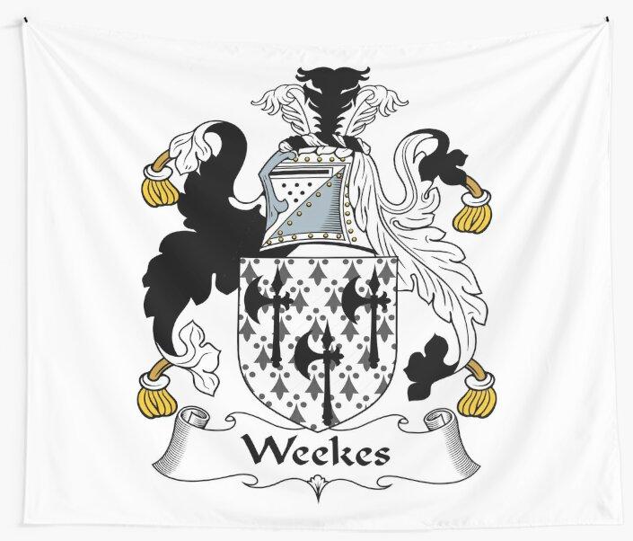 Weekes or Wykes by HaroldHeraldry